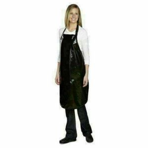 New black top performance value grooming apron